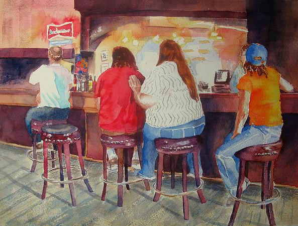 Myra Oberman's People Paintings