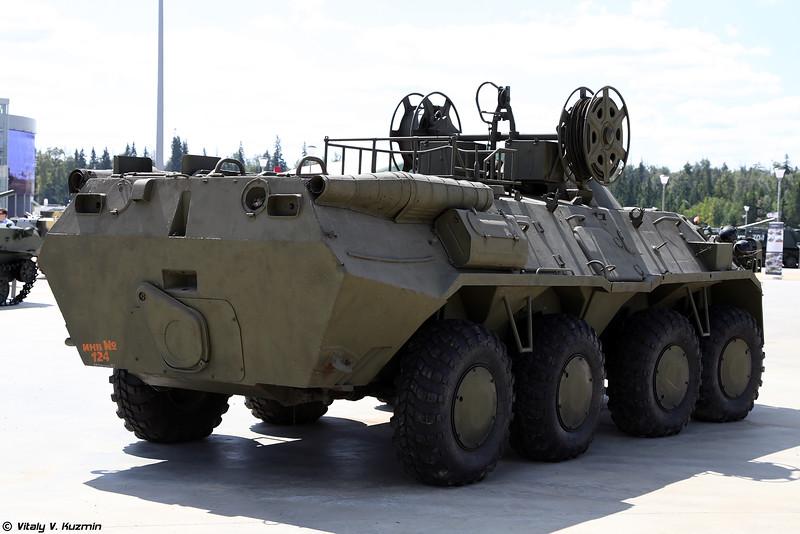 Бронированная ремонтно-эвакуационная машина БРЭМ-К (BREM-K wheeled armored recovery vehicle)