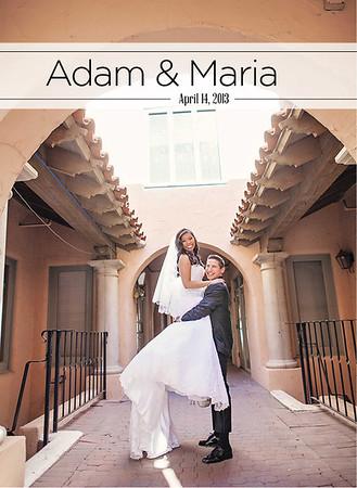 Adam & Maria wedding album