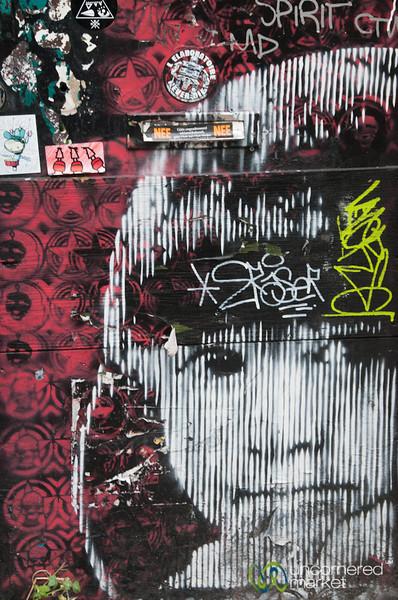 Amsterdam Street Art - Face