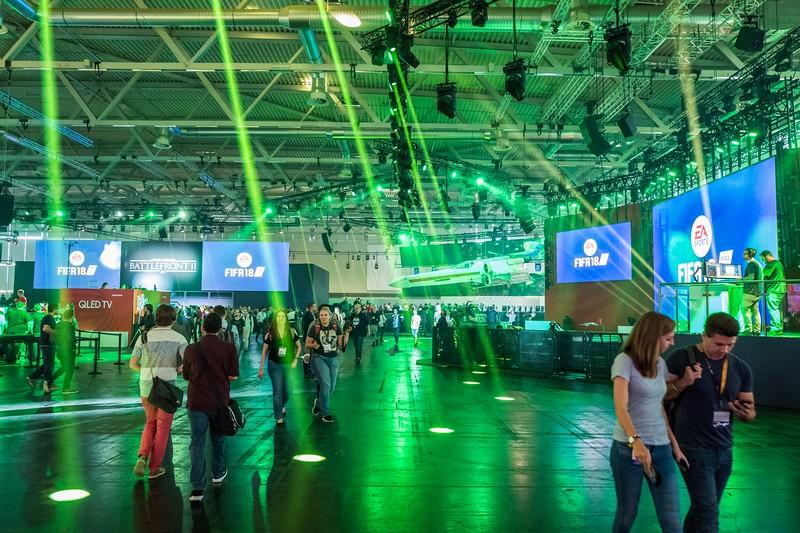 EA booth at Gamescom 2017