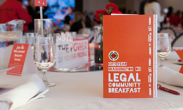Legal Community Breakfast 2017- City Year Washington, DC