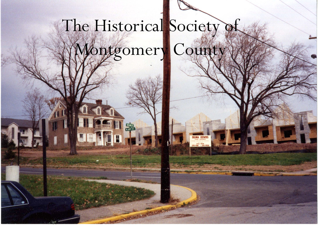 . This undated photo from the Historical Society of Montgomery County shows Selma Mansion in Norristown.