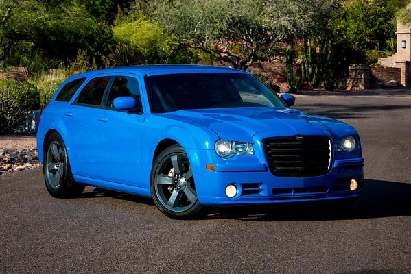 300 Wagon Stage 2, Blue+Interior