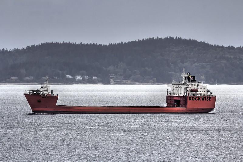 Heavy Lift Vessel - Dockwise Swift - Aug 2016