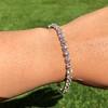 9.50ctw Round Brilliant Diamond Tennis Bracelet 12