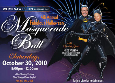 2010-10-30, Women 4 Wesson Masquerade Ball