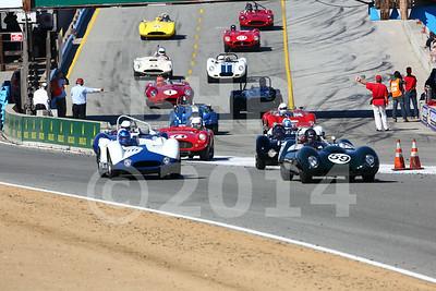Group 6A 2014 Rolex Monterey Motorsport Reunion Race August 14-17, 2014