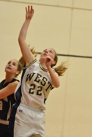 Silverton vs West Albany Frosh JV Varsity Girls Basketball