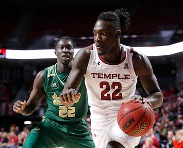Temple Vs USF Men's Basketball