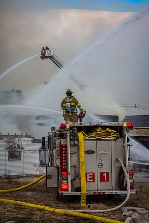 Goffstown, NH 3rd Alarm - 711 Mast Rd. - 2/21/16