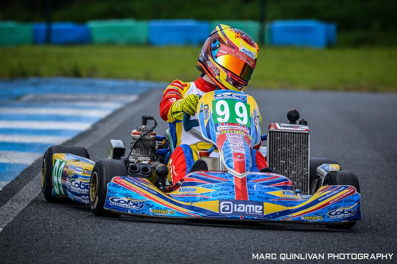 Motorsport Ireland Karting Championship 2017 - Round 7 - Whiteriver