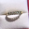 1.17ctw French Cut Diamond 7-Stone Band 10