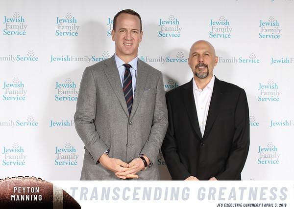 JFS Luncheon with Eli Manning 4.3.2019