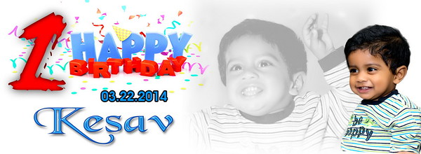 Kesav's First Birthday