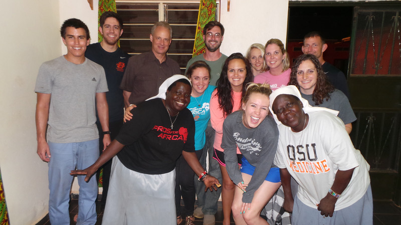 OSU Med Students Trip to Uganda - May, 2014