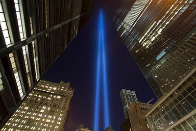 Lower Manhattan - 911 13th Anniversary