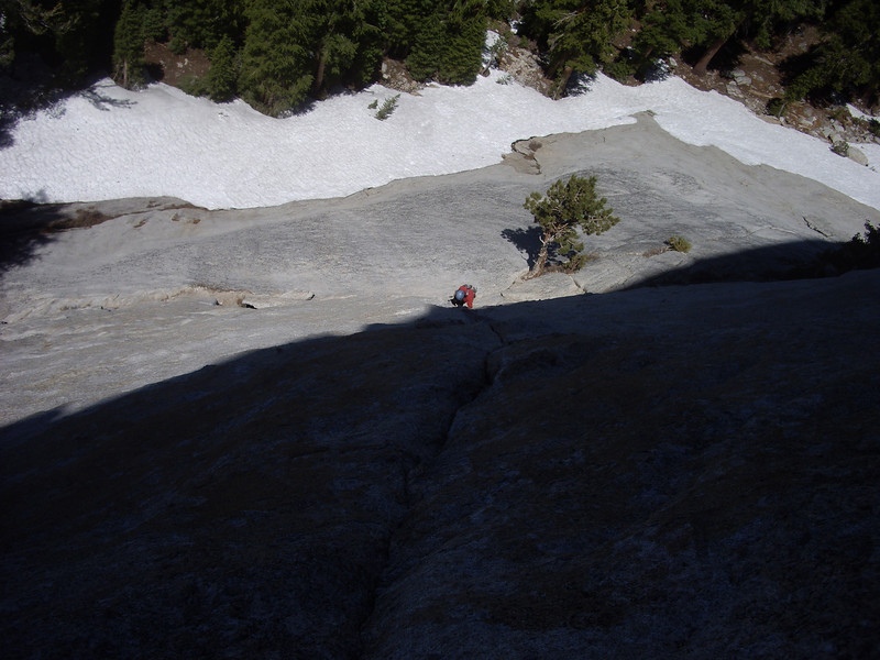 Robin, P1 of West Crack, DAFF Dome.