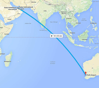 25 September 2015 Dubai to home in Perth