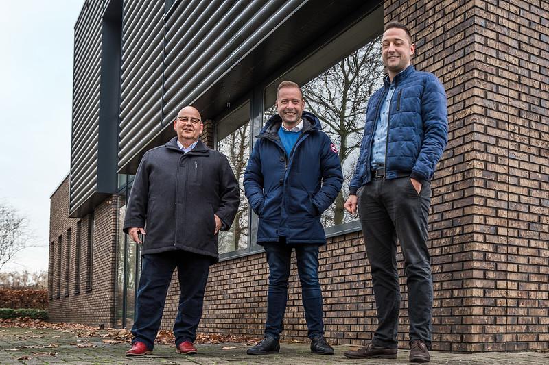 Farmforte Meppel. vlnr Andre Schaap, Gert Jan Boer, Frank Smit foto: Wim Goedhart