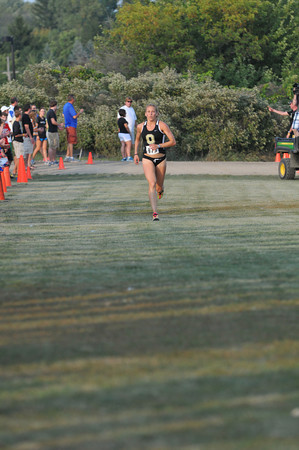 Women's Finish - 2012 Golden Grizzly College XC Invite