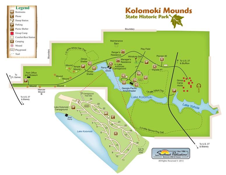 Kolomoki Mounds State Historic Park