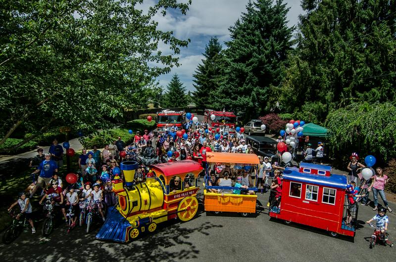 Maywood Park July 4th 2014 Parade pics