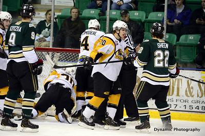 Okotoks Oilers vs Olds Grizzlys Feb 15 2013