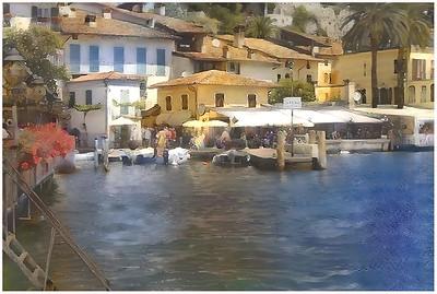 Garda Lake - Limone Fantasy