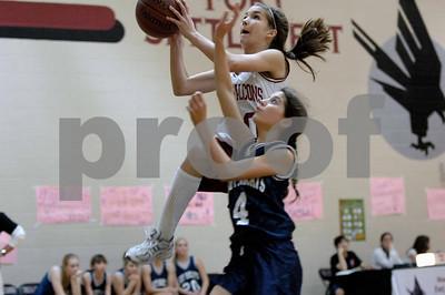 8th grade girls basketball feb 7th