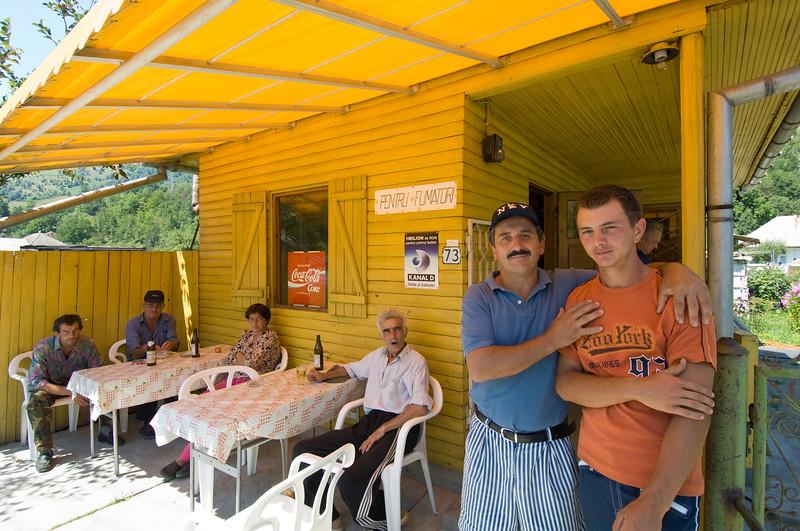Village bar, Bicaz, Moldavia, Romania