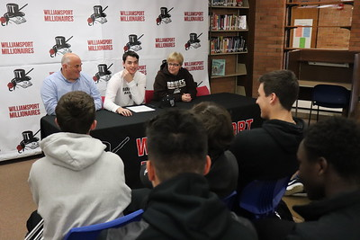 Kyle Caringi Signs with St. Bonaventure