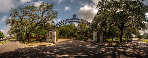 Old City Park Entrance | May 2020