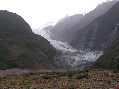 2006 - Mar 26-27 - Pancake Rocks, Hokitika, Franz Josef, en route