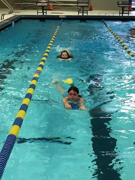 ES Swimming Trip