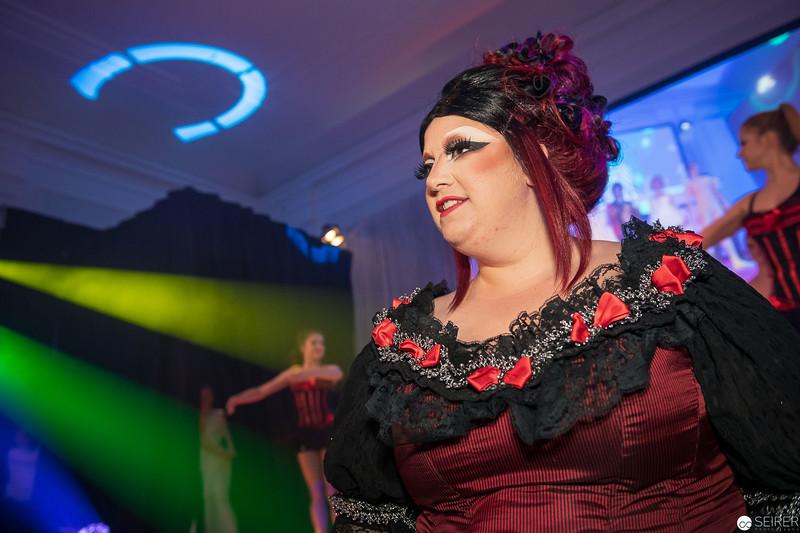 Saray Cardenas bei der Eröffnungsshow des Diversity Ball 2019