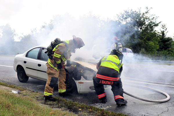 9/20/2010 Car Fire on Rt 4