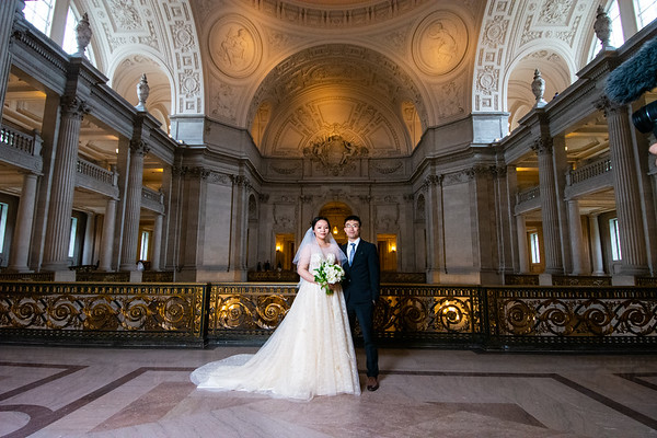 Jessica and Xibai / San Francisco City Hall Wedding