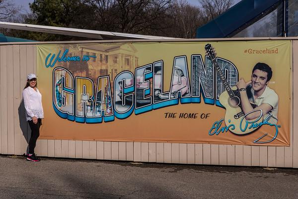 Little Rock Half-Marathon, Nashville and Memphis Vacation
