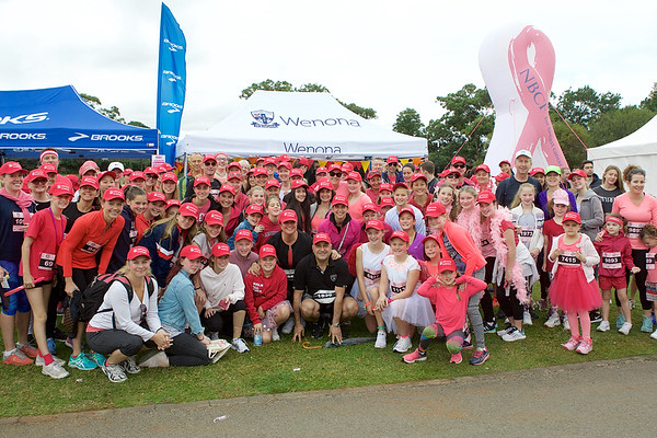 Wenona Walker - Mothers' Day Walk for Breast Cancer Research 2017 5 14