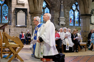 The Induction of Revd Larry Wright