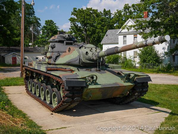VFW Post 2408 - Ypsilanti, MI - M60A3