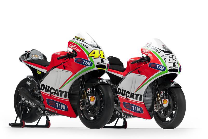 Ducati GP12 MotoGP Racers
