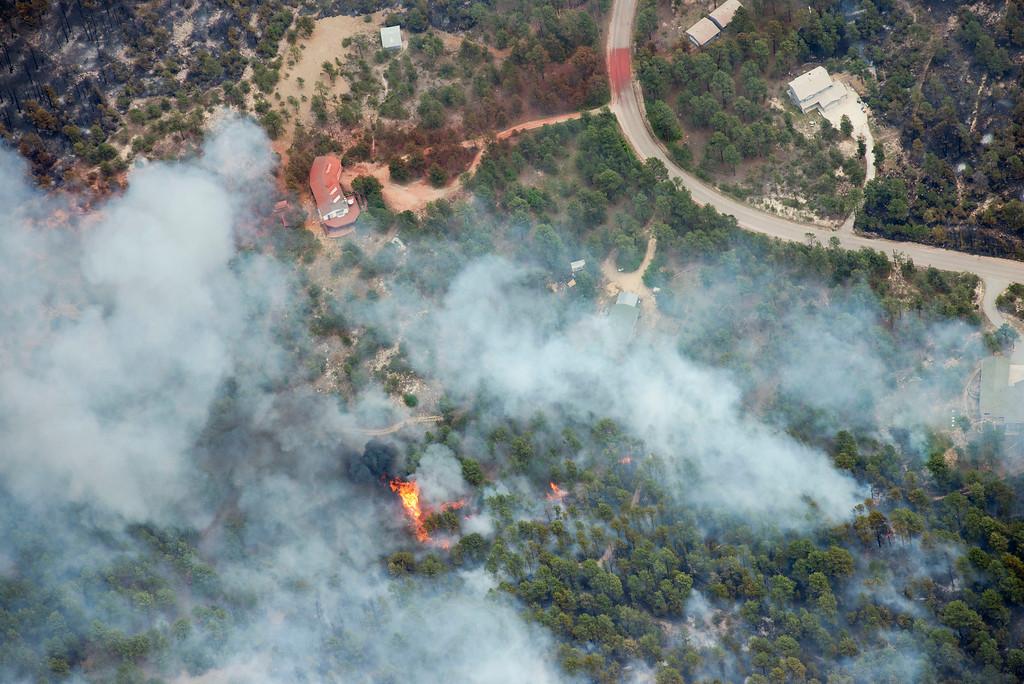 . Black Forest fire, 1p.m., Thursday, June 13, 2013. John Wark