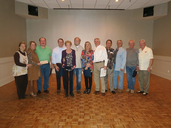 2018 April-MESS Past Presidents Presented with Certificates