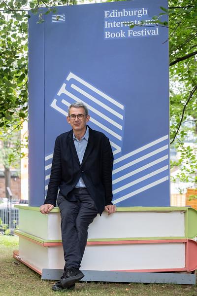 Edmund de Waal at the 2021 Edinburgh International Book Festival
