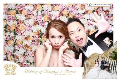 Xianghui + Xuewei Photobooth Album