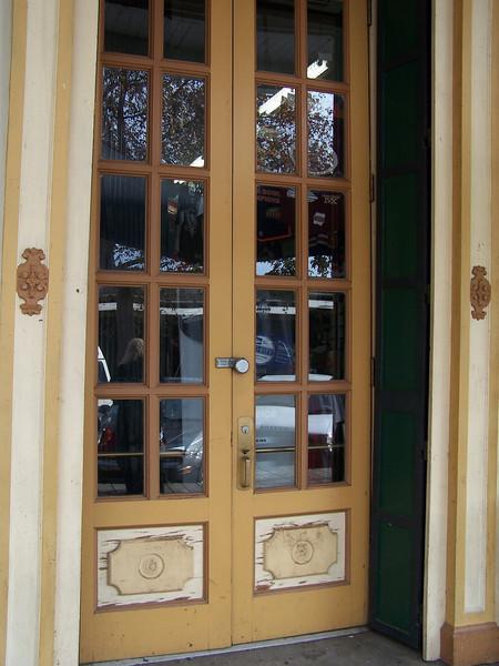 Old Sacramento door.