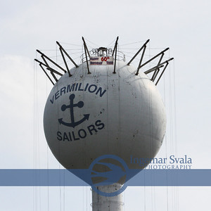 TODD SOMMER..BIRTHDAY GREETINGS ON VERMILION WATER TOWER MAY 2, 2012
