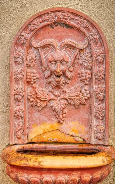 Devil, Villa Montalvo, Saratoga, California, 2010